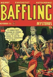 PS Artbooks's Pre-Code Classics: Baffling Mysteries Hard Cover # 2b