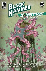 Dark Horse Comics's Black Hammer/Justice League: Hammer of Justice Issue # 1d