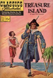 Gilberton Publications's Classics Illustrated #64: Treasure Island Issue # 4