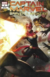 Marvel Comics's Captain Marvel: Braver & Mightier Issue # 1ebay
