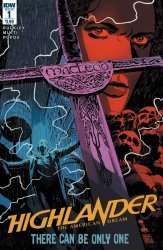 IDW Publishing's Highlander: American Dream Issue # 1