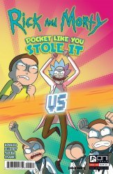 Oni Press's Rick and Morty: Pocket Like You Stole It Issue # 4