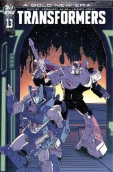 IDW Publishing's Transformers Issue # 13ri
