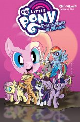IDW Publishing's My Little Pony: Friendship is Magic Omnibus TPB # 5