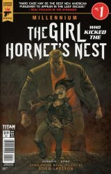 Titan Comics's Hard Case Crime: Millennium - The Girl Who Kicked The Hornet's Nest Issue # 1b