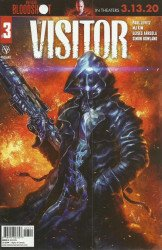 Valiant Entertainment's The Visitor Issue # 3b