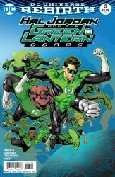 DC Comics's Hal Jordan and the Green Lantern Corps Issue # 3b