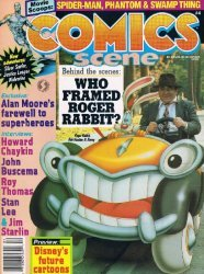Starlog Group's Comics Scene Issue # 4