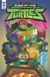IDW Publishing's Rise of the Teenage Mutant Ninja Turtles Issue # 0