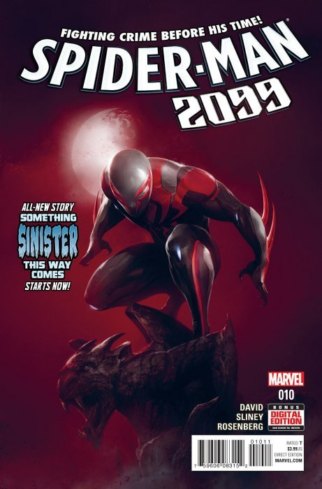 Marvel comicss spider man 2099 issue 10
