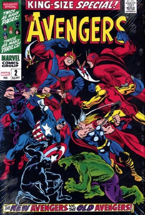 Marvel Comicss Avengers Omnibus Hard Cover 2b