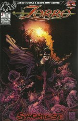 American Mythology's Zorro: Sacrilege Issue # 3