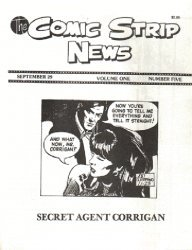 Quality Comics Group's Comic Strip News Issue # 5