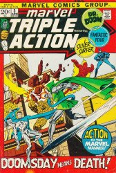 Marvel Comics's Marvel Triple Action Issue # 3