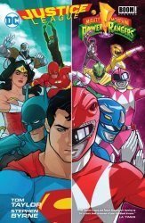 DC Comics's Justice League / Power Rangers Hard Cover # 1
