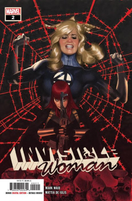 Invisible Woman #1 Hans Variant Marvel 2019 VF//NM