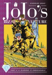Viz Media's Jojo's Bizarre Adventure: Diamond is Unbreakable Hard Cover # 3