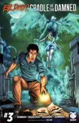 Space Goat Productions 's Evil Dead 2: Cradle Of The Damned Issue # 3