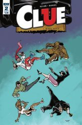 IDW Publishing's Clue Issue # 2c
