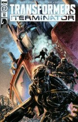 IDW Publishing's Transformers vs Terminator Issue # 2ri