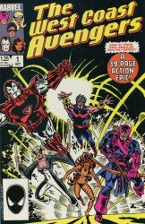 Marvel Comics's West Coast Avengers Issue # 1