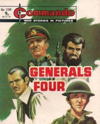 D.C. Thomson & Co.'s Commando: War Stories in Pictures Issue # 1169