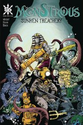 Source Point Press's Monstrous: Sunken Treachery Issue # 1
