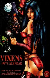 CFD Productions's Vixens 1997 Calendar Issue # 1
