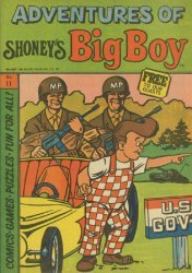 Paragon Products's Adventures of Shoney's Big Boy Issue # 11