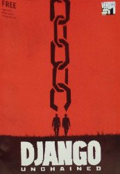 Vertigo's Django Unchained Issue preview