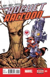 Marvel's Rocket Raccoon Issue # 5