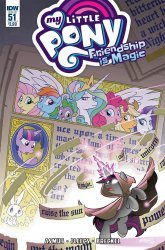 IDW Publishing's My Little Pony: Friendship is Magic Issue # 51