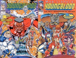 Image Comics's Youngblood Issue # 1