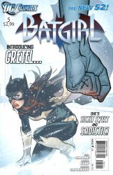 DC Comics's Batgirl Issue # 5