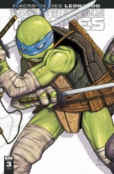 IDW Publishing's Teenage Mutant Ninja Turtles: Macro-Series - Leonardo Issue # 1double midnight