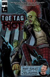 Black Mask Comics's Toe Tag Riot Issue # 1