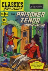 Gilberton Publications's Classics Illustrated #76: The Prisoner of Zenda Issue # 2