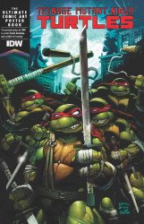 IDW Publishing's TMNT: The Ultimate Comic Art Poster Book Soft Cover # 1