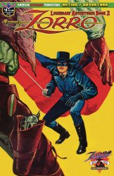 American Mythology's Zorro: Legendary Adventures Issue # 4