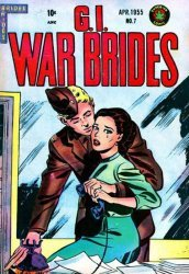 Superior Comics's G.I. War Brides Issue # 7