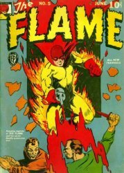 Fox Publications's The Flame Issue # 5