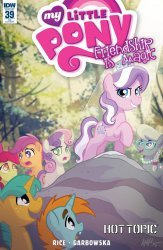 IDW Publishing's My Little Pony: Friendship is Magic Issue # 39hot topic