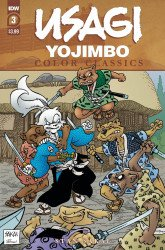 IDW Publishing's Usagi Yojimbo Color Classics Issue # 3