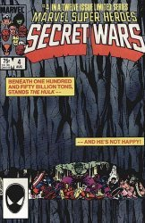 Marvel Comics's Marvel Super-Heroes Secret Wars Issue # 4