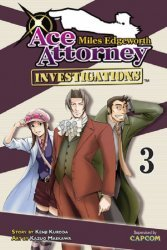 Kodansha Comics's Miles Edgeworth Ace Attorney: Investigations Soft Cover # 3