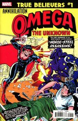 Marvel Comics's True Believers: Annihilation - Omega The Unknown Issue # 1