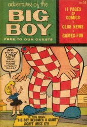 Timely Comics's Adventures of Big Boy Issue # 55