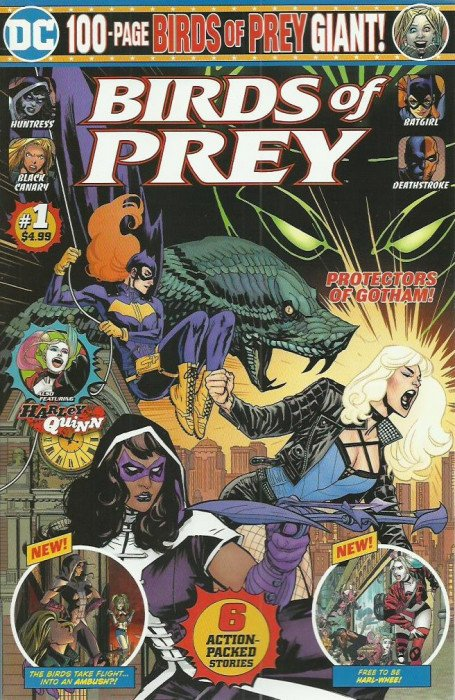Birds Of Prey Giant Issue 1mass Edition Dc Comics