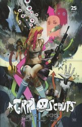 Image Comics's Grrl Scouts: Magic Socks Issue # 3b
