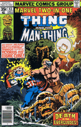 Marvel Comics's Marvel Two-in-One Issue # 43